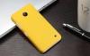 Чехол накладка для Nokia Lumia 630 Dual sim и для Nokia Lumia 635 Skinbox Shield 4People Желтый