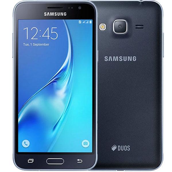 074615b4060a Купить смартфон Samsung Galaxy J3 (2016) SM-J320F Black дешево, цена ...