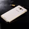 Силиконовый чехол для Samsung Galaxy A5 SM-A500F Hallsen Прозрачный с золотыми краями