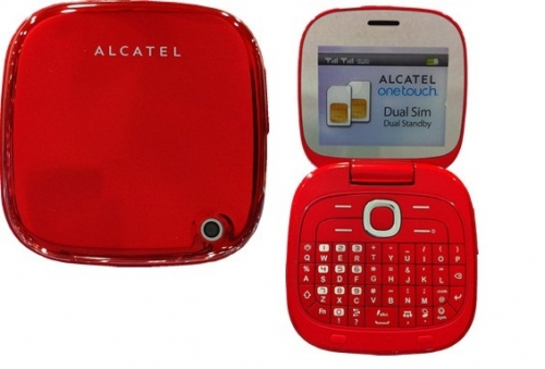 Alcatel OneTouch 810D Cherry red