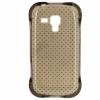 Силиконовый чехол для Samsung Galaxy S Duos 2 GT-S7582 и Samsung Galaxy S Duos S7562 Fashion Case Серый крапинка