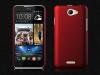 Чехол накладка для HTC Desire 516 Dual Sim Skinbox Shield 4People Красный