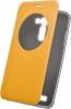Чехол книжка для Asus Zenfone 2 Laser ZE550KL Skinbox Lux AW Желтый