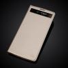 Чехол книжка для LG V10 H961 Чехольчикофф с окошком Золотой