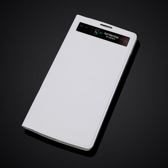 Чехольчикофф для LG V10 H961 с окошком Белый