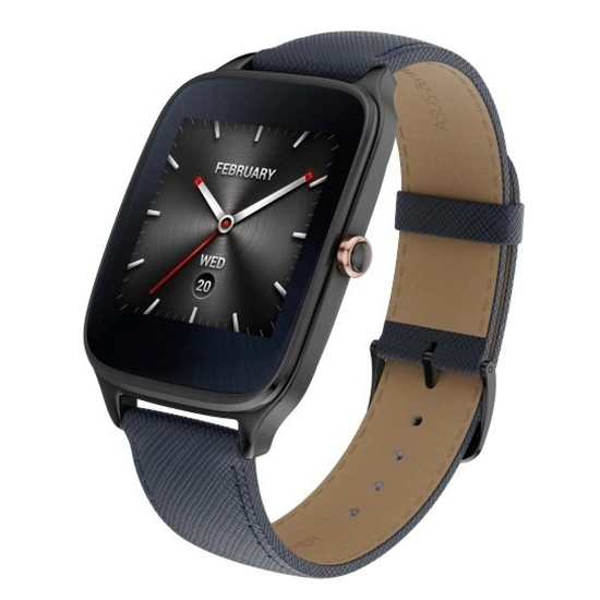 Asus ZenWatch 2 WI501Q-2LBLU0014 Blue