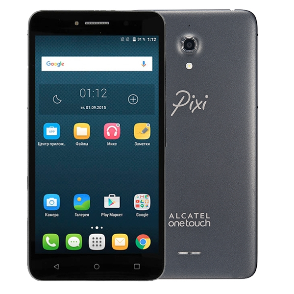 Alcatel One Touch Pixi 4 6.0 8050D Volcano Black