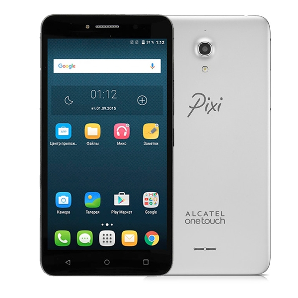Alcatel One Touch Pixi 4 6.0 8050D Metal Silver
