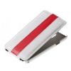 Чехол книжка для Samsung Galaxy Note 3 UpCase Бело красный