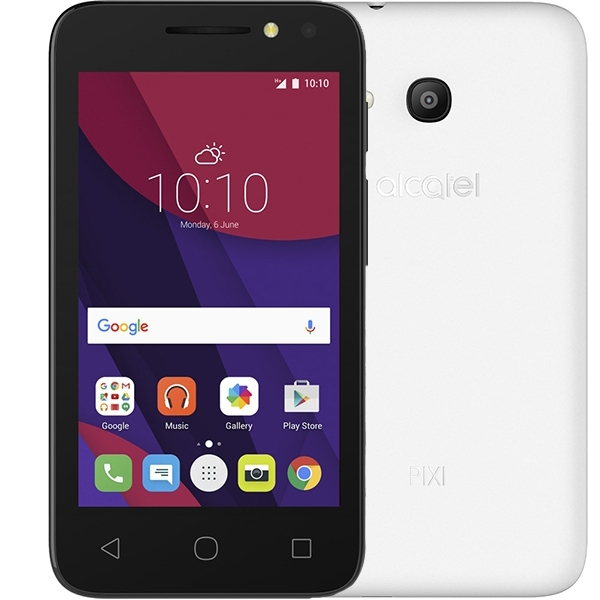 Alcatel 4034D Pixi 4 (4.0) Black White