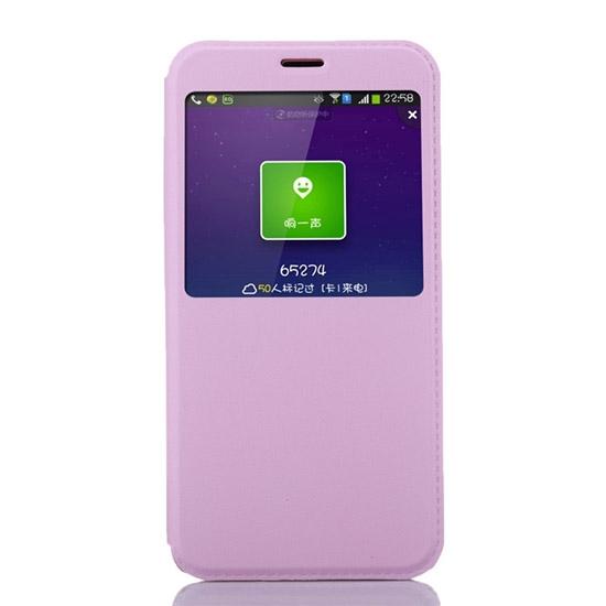 Чехольчикофф для Meizu M3 Note Люкс с окном Светло розовый