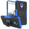 Чехол накладка для Meizu M3 Чехольчикофф Противоударный защищенный Синий