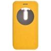 Чехол книжка для Asus ZenFone Max ZC550KL Skinbox Lux AW Желтый