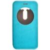 Чехол книжка для Asus ZenFone Max ZC550KL Skinbox Lux AW Синий
