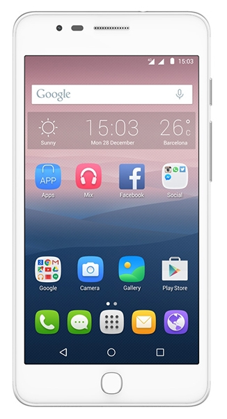 Alcatel One Touch Pop Up 6044D White