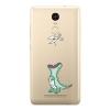 Силиконовый чехол для Xiaomi Redmi Note 3 Чехольчикофф Динозавр