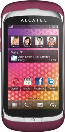 Alcatel One Touch 818D Mystery Pink
