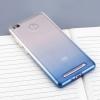 Силиконовый чехол для Xiaomi Redmi 3 Pro и 3S Чехольчикофф Люкс Голубой