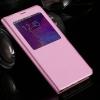 Чехол книжка для Xiaomi Redmi 3 Pro и 3S Чехольчикофф с окном Светло розовый