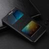 Чехол книжка для Xiaomi Redmi Note 4 Чехольчикофф с окном Черный