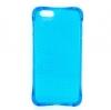 Силиконовый чехол для Apple iPhone 4S Fashion Case Крапинка голубой