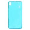 Силиконовый чехол для Lenovo S8 A7600 TPU 0.5мм Голубой глянцевый