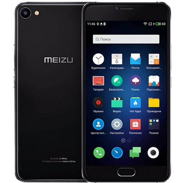 Meizu U10 32Gb Black - купить смартфон в Москве: цена и характеристики в интернет-магазине Quke.ru