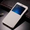 Чехол книжка для Xiaomi Mi5S Plus Чехольчикофф с окном Белый