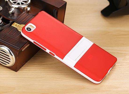 Чехольчикофф Силиконовый чехол для Xiaomi Mi5 с подставкой Красный