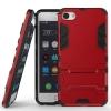 Чехол накладка для Meizu U10 Чехольчикофф Противоударный защищенный Красный