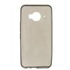 Силиконовый чехол для HTC One ME TPU 0.3мм Серый глянцевый