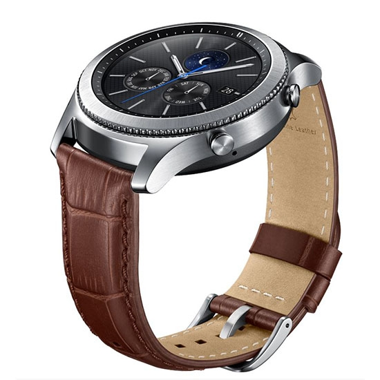 Ремешок для Samsung Galaxy Gear S3 ET-YSA76MDEGRU Brown
