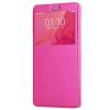 Чехол книжка для Meizu M5 Note Чехольчикофф с окном Розовый