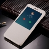 Чехол книжка для Xiaomi Redmi 4 и Redmi 4 Pro Чехольчикофф с окном Белый