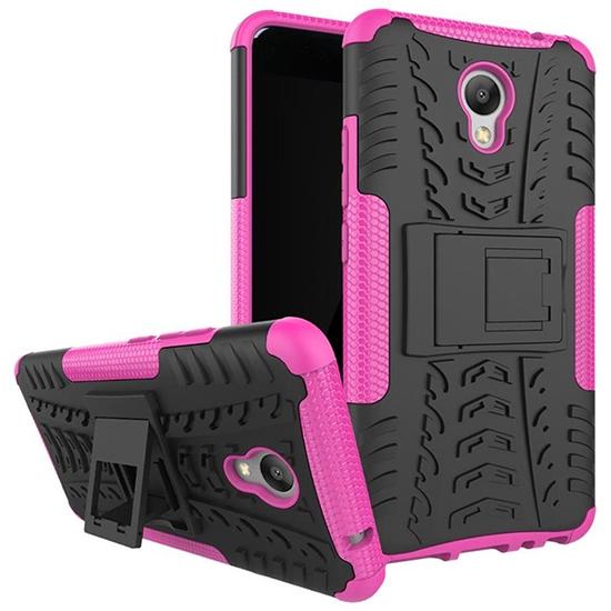 Чехольчикофф для Meizu M5 Note Противоударный защищенный Розовый