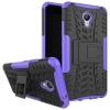 Чехол накладка для Meizu M5 Note Чехольчикофф Противоударный защищенный Фиолетовый