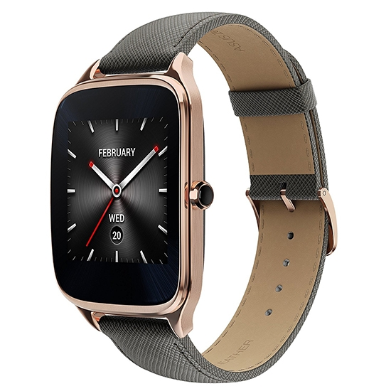 Asus ZenWatch 2 WI501Q Gold Leather Grey