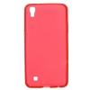 Силиконовый чехол для LG X Power K220DS TPU 0.8мм Красный глянцевый