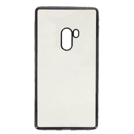 Hallsen Силиконовый чехол для Xiaomi Mi Mix Прозрачный с чёрными краями