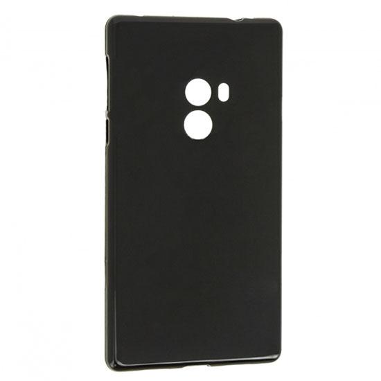 TPU Силиконовый чехол для Xiaomi Mi Mix X 0.8мм Черный матовый
