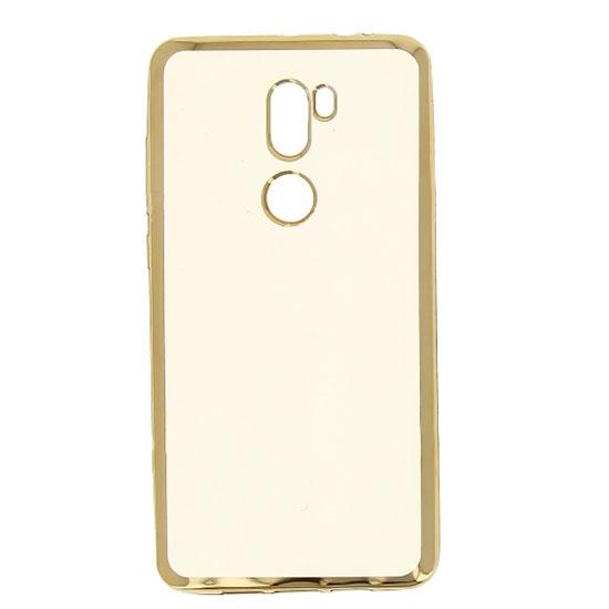 Hallsen Силиконовый чехол для Xiaomi Mi5S Plus Прозрачный с золотыми краями