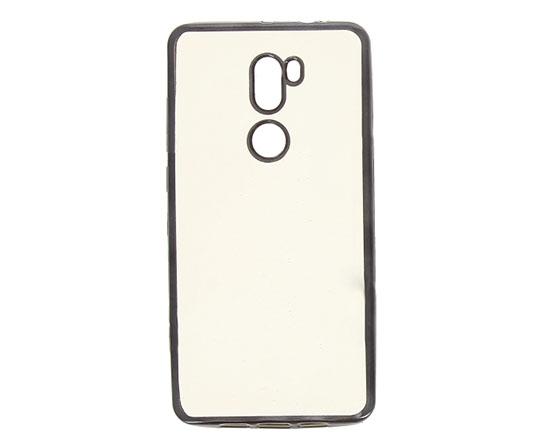 Hallsen Силиконовый чехол для Xiaomi Mi5S Plus Прозрачный с черными краями