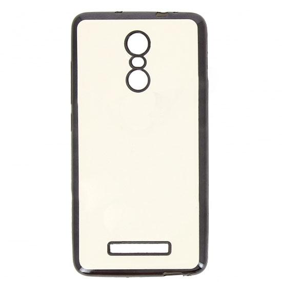 Hallsen Силиконовый чехол для Xiaomi Redmi Note 3 Прозрачный с черными краями