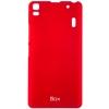 Чехол накладка для Lenovo A7000 Skinbox Shield 4People Красный