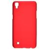 Чехол накладка для LG X Power K220DS Skinbox Shield 4People Красный