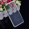 Силиконовый чехол для Meizu M5 Note Skinbox Silicone Chrome Border 4People Серебряный