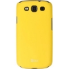 Чехол накладка для Samsung Galaxy S3 Duos GT-I9300I Skinbox Shield 4People Желтый