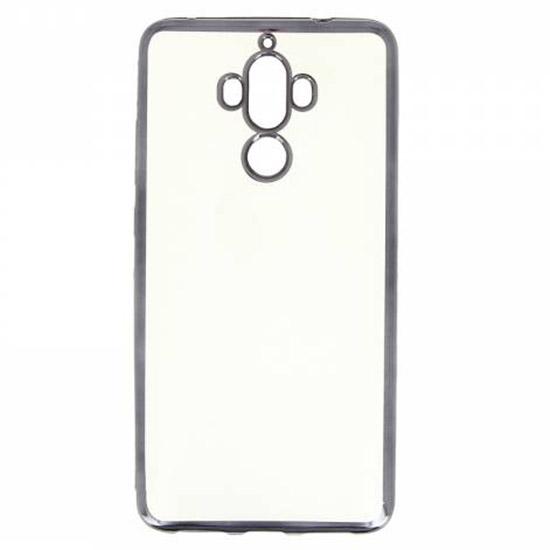 Hallsen Силиконовый чехол для Huawei Mate 9 0.3мм Прозрачный с черными краями
