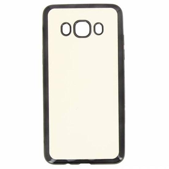 Hallsen Силиконовый чехол для Samsung Galaxy J5 (2016) Прозрачный с черными краями