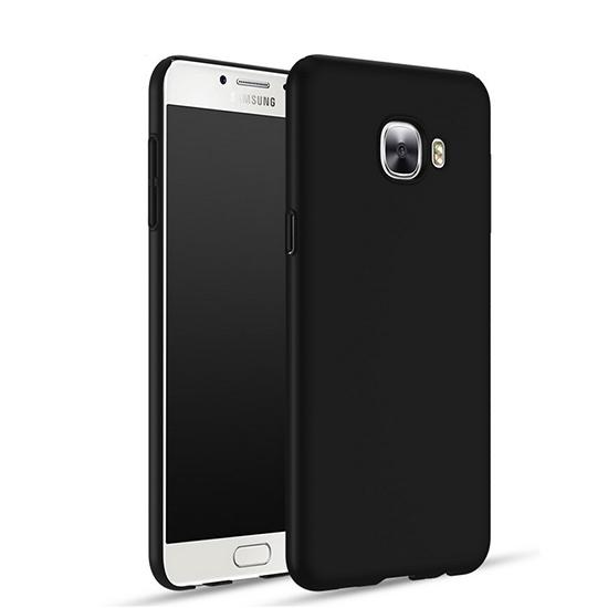 TPU Силиконовый чехол для Samsung Galaxy C9 Черный матовый